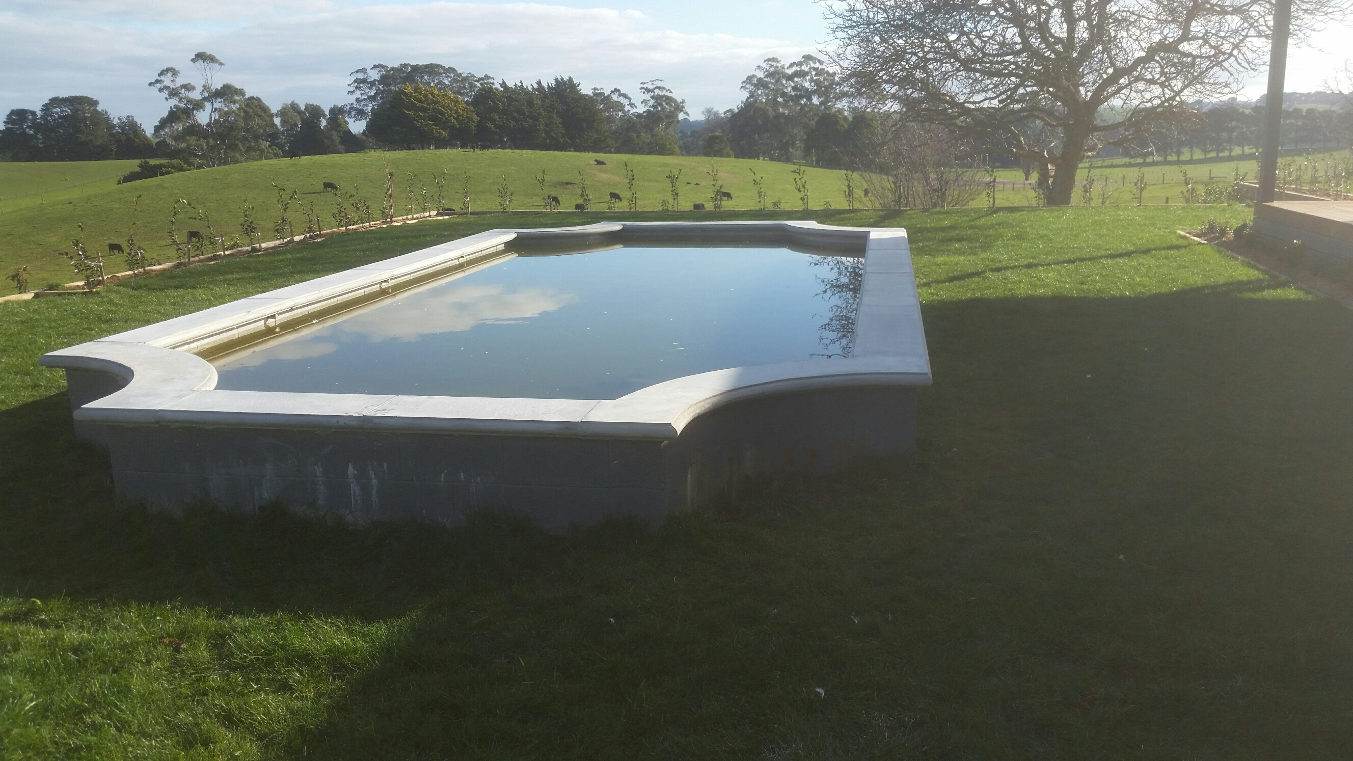Concrete Pond Tops