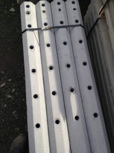 6 hole concrete post