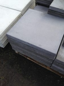 600mm x 600mm x 40mm thick concrete paver,charcoal color